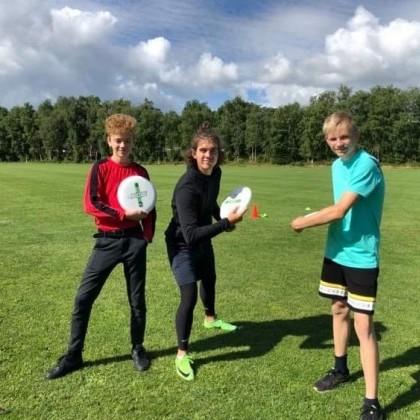 Frisbee 2020